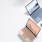 Surface Laptop Go 3色のラインナップ