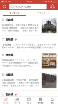 『犬山城』『彦根城』『竹田城』『弘前城』