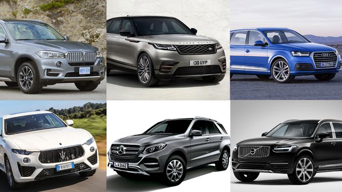 大型SUV|【一覧】外車SUVサイズ(全長/全幅/全高)