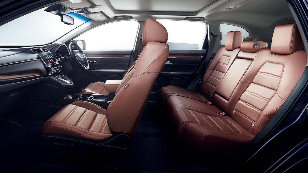 ホンダCR-V 後部座席