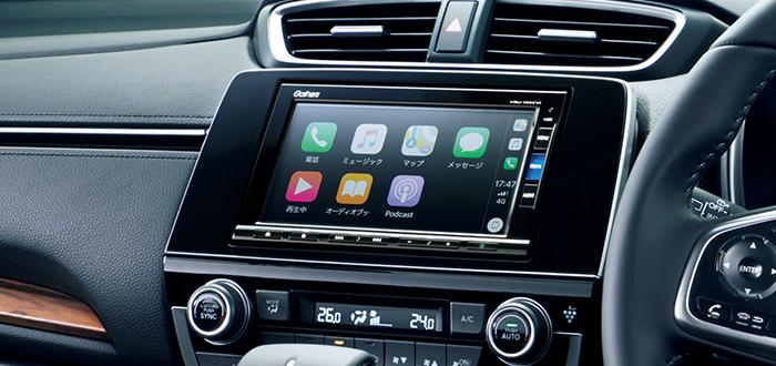 CR-V 純正ナビ・Apple CarPlay